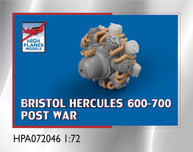 High Planes Bristol Hercules Post War 600-700 Series Accessories 1:72 (HPA072046)