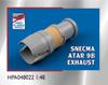 High Planes Dassault Mirage IIIC SNECMA ATAR 9B Exhaust Resin Accessories 1:48 (HPA048022)