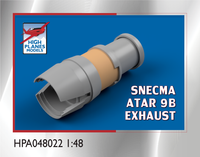 High Planes Dassault Mirage IIIC SNECMA ATAR 9B Exhaust Resin Accessories 1:48 (HPA048022)