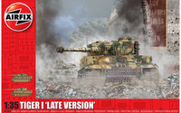 Airfix A1364 Tiger-1, Late Version 1:35 Scale