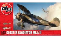 Airfix A02052A Gloster Gladiator Mk.I/Mk.II 1:72 Scale