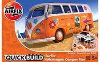 "Airfix J6032 QUICKBUILD VW Camper Van ""Surfin"""