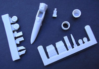 OzMods Scale Models Mig-23/27 conversions and upgrades Accessories 1:144
