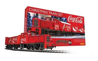 R1233 The Coca Cola Christmas Train Set OO Gauge