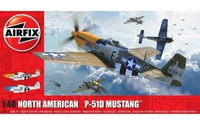 Airfix A05138 North American P51-D Mustang (Filletless Tails) 1:48 Scale