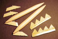 OzMods Scale Models F-111 Wing Tanks Accessories 1:48