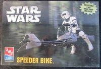 AMT/ERTL 38304 Star Wars Speeder Bike Model Kit
