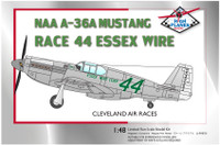 "High Planes North American A-36 Race 44 ""Essex Wire Corp"" 1947 Cleveland Racer 1:72"