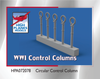 High Planes WWI Control Columns Circular (Accessories 1:72) (HPA072078)