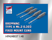 High Planes Browning Type A MkII 0.303 Fixed Guns Accessories 1:48 (HPA048037)