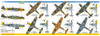 FCM Bf-109 E/F/G (6 versions) Decals 1:32 Scale (FCD032024)
