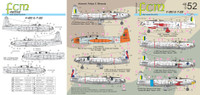 FCM F-80 / T-33 Decals 1:48 Scale (FCD048052)