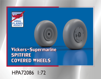 High Planes V-S Spitfire Covered Wheels 1:72 Accessories