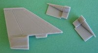 OzMods-Scaledown F-111 Prototype Fin and Intakes Accessories 1:144