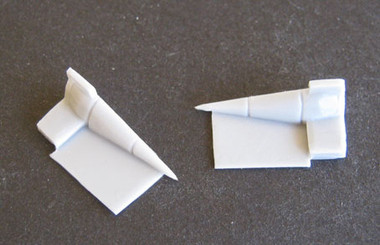 OzMods-Scaledown F-111A/B/C Intakes. For the Arii kit Accessories 1:144