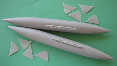 OzMods-Scaledown F-111A, C, D, E, F long-range fuel tanks Accessories 1:48
