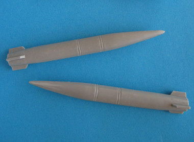 OzMods-Scaledown AGM-69 SRAMs 2 per pack Accessories 1:48