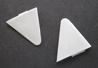 OzMods-Scaledown Spitfire high altitude wing tips Accessories 1:48