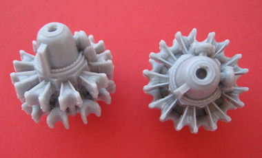 OzMods-Scaledown P&W R-2800 Double Wasp engine Accessories 1:48