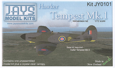 Jays Model Kits Ventura Hawker Tempest I Conversion (Kit 1:72)