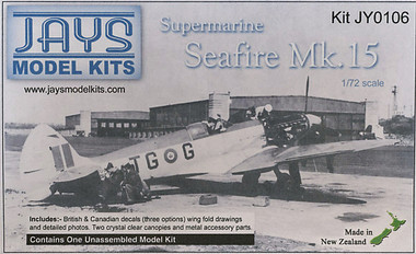 Jays Model Kits Ventura Supermarine Seafire Mk 15 (Kit 1:72)