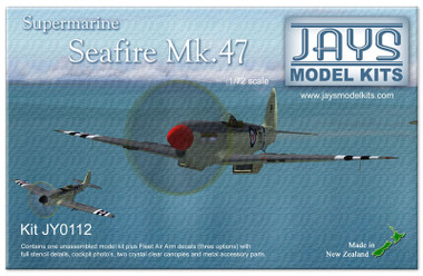 Jays Model Kits Ventura Supermarine Seafire Mk 47