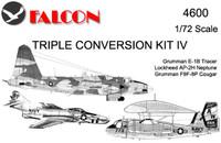 Falcon Triple Conversion IV: Tracer, Neptune, Cougar Kit 1:72 (FIK04600)