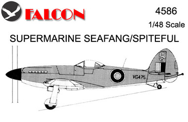 Falcon Supermarine Seafang / Spiteful Kit 1:48 (FIK04586)