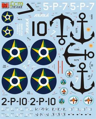 FCM decals PBY Catalina Argentina Brazil