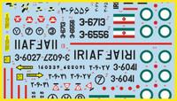 FCM F-14A Tomcat VF-211 Checkmates Pt 1 Decals 1:48