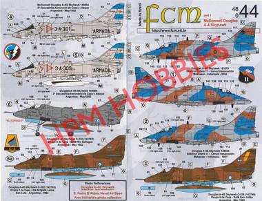 FCM Decals A-4 Skyhawks part 1