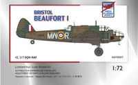 High Planes Bristol Beaufort Mk 1 RAF Europe Kit 1:72 (HPK072027)