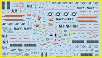 FCM Set 33: Grumman F-14A Tomcat - USN VF-114 Aardvarks Decals 1:144