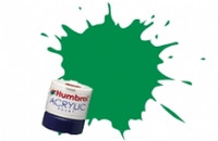 Humbrol Acrylic Paint 2 Gloss Emerald12 ml Jar