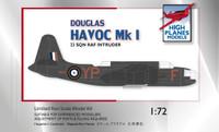 High Planes Douglas Havoc 1 RAF Intruder Kit 1:72