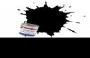 Humbrol Acrylic Paint 85 Satin Coal Black 12 ml Jar