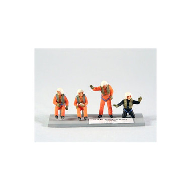 PJ Productions SAR Helicopter crew Figures 1:72