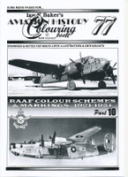 Ian K Baker Aviation Colouring Book 77