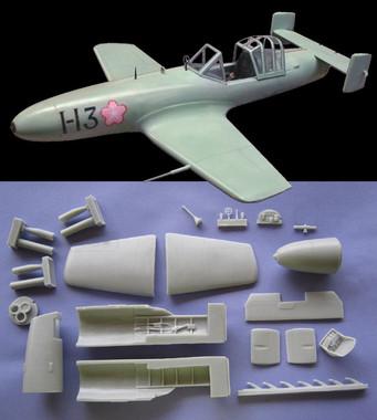 OzMods Scale Models 1/32 Yokosuka Okha II Piloted Flying Bomb Kit 1:32