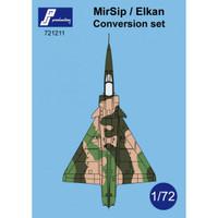 PJ Productions MirSip  / Elkan Conversion Set Accessories 1:72
