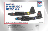 High Planes Douglas P-70 Boston USAAF, Havoc II RAF Kit 1:72