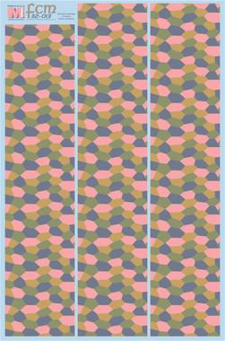 FCM WWI Four Color Lozenge Under Surfaces Decals 1:32