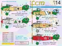 FCM WWI Albatros D.III/D.V Jasta 5 Decals 1:32