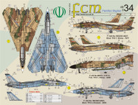 FCM Iranian Tomcats & Phantoms Decals 1:48
