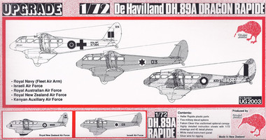 Tasman DH89A Dragon Rapide Kit 1:72