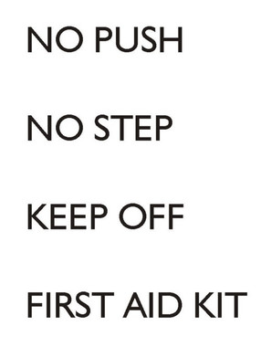 Red Roo Models No Step/First Aid Kit RAAF / RAN / Army Decals