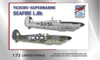 High Planes Supermarine Seafire III British Pacific Fleet/France Kit 1:72 (HPK072058)