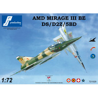 PJ Productions Dassault Mirage IIIBE DS D2Z 5BD Kit 1:72