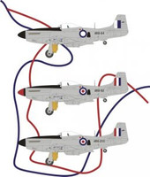 Red Roo Models CAC CA18 Mustang MK21/23 PR conversion Accessories 1:48