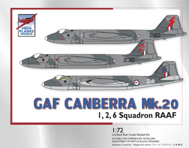 High Planes GAF Canberra B20 RAAF Kit 1:72